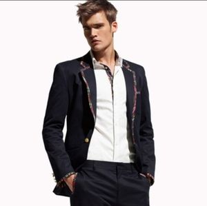 Matthew Williamson For H&M Blue Blazer Jacket